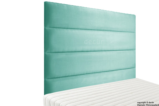 Boston Velvet Headboard - Seaspray