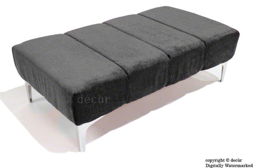 Abi Footstool - Black with Optional Storage