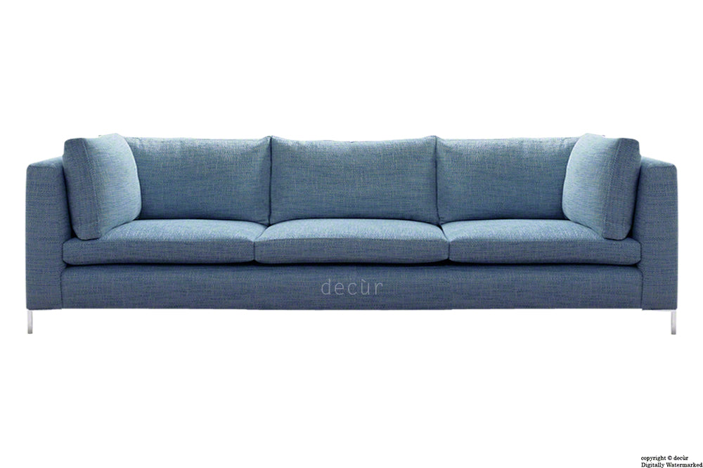 Olivia Linen Sofa - Denim