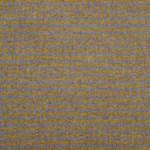 Harris Tweed Houndstooth Fabric - Winter Wheat