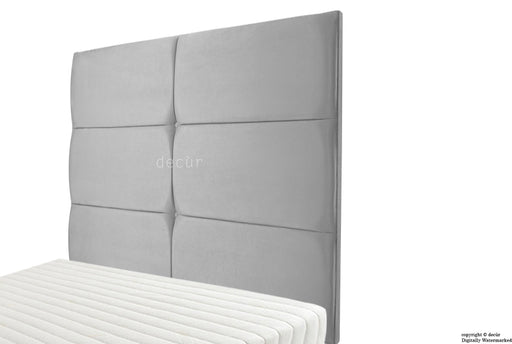 Bardi Wall High Velvet Headboard - Seal