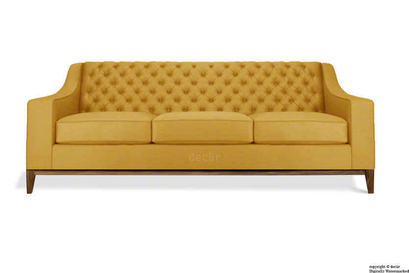 The Fifty Three Velvet Sofa - Gold