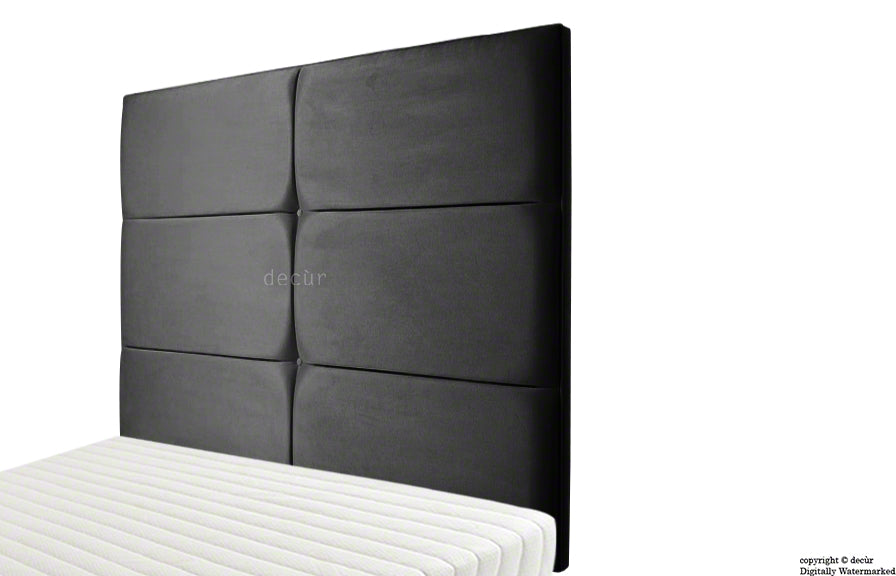 Bardi Wall High Faux Suede Headboard