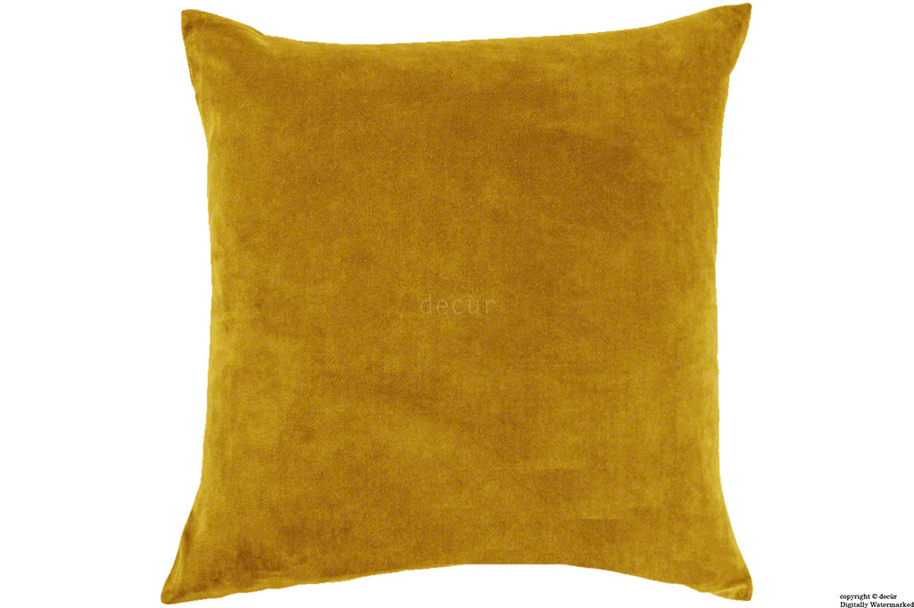 Malvern Velvet Cushion - Gold