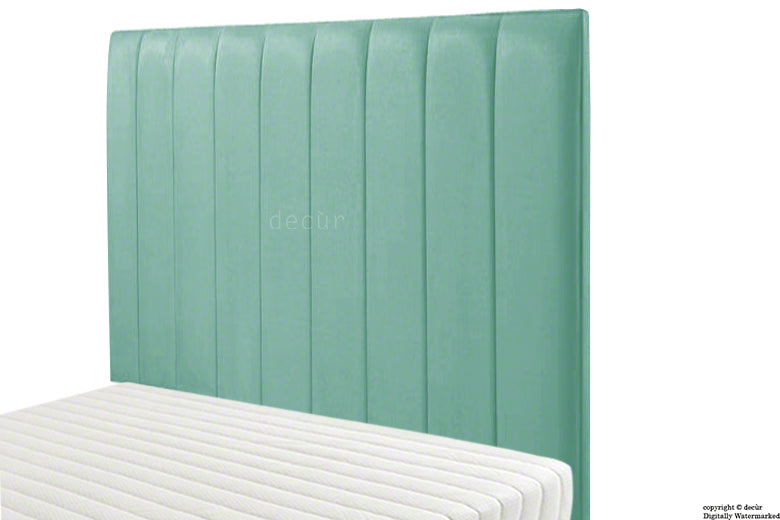 Petra Velvet Headboard - Seaspray