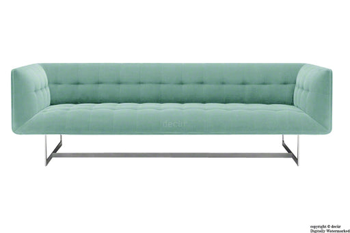 Henrik Velvet Sofa - Seaspray