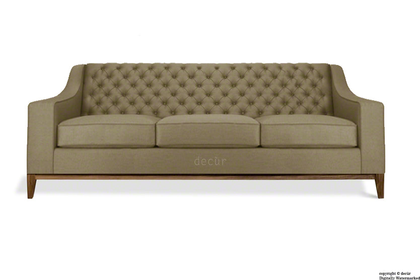 The Fifty Three Velvet Sofa - Taupe