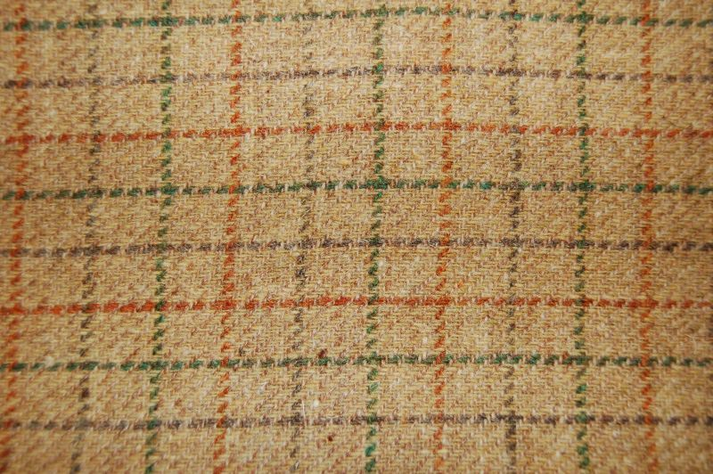 Harris Tweed Bentham - Check Sand