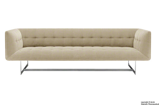 Henrik Velvet Sofa - Putty