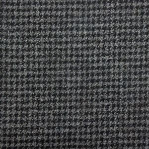 Harris Tweed Houndstooth Fabric - Slate Grey