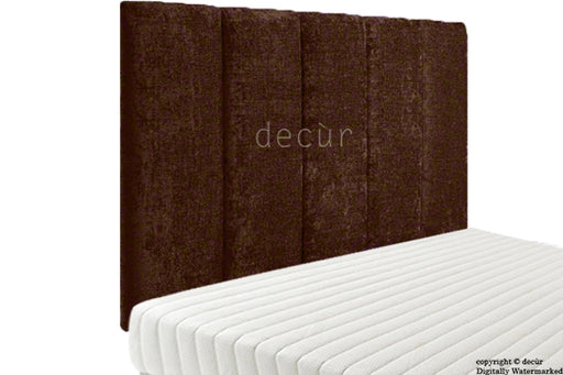 Abi High Headboard - Brown