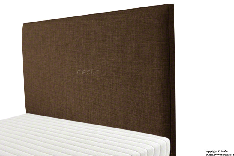 Faye Fabric Headboard - Brown