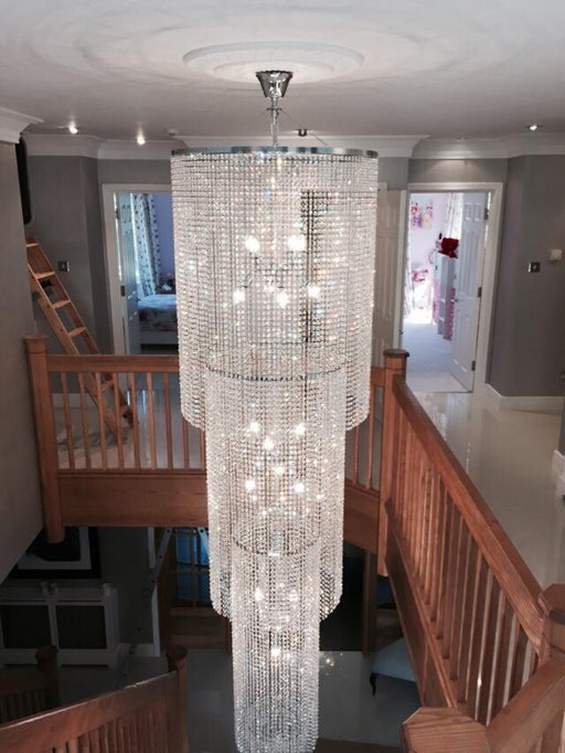 Bespoke Kensington Chandelier - For A Grand Staircase, Foyer, Landing, Lobby or Stairwell - 3.5 Meter