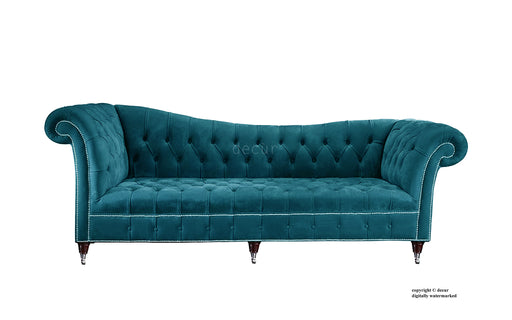 Chesterfield Chaise Lounge Sofa