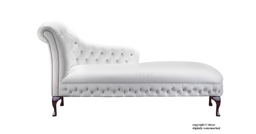 Leather Chaise Lounge By Decur