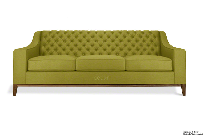 The Fifty Three Velvet Sofa - Grass