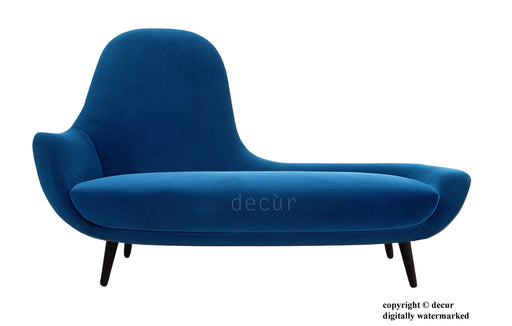 Modern Chaise Lounge - Teal