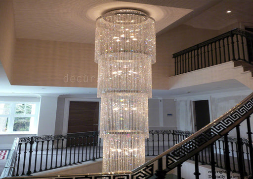 Windsor Chandelier - For A Grand Staircase, Foyer, Landing, Lobby or Stairwell - 5 Meter