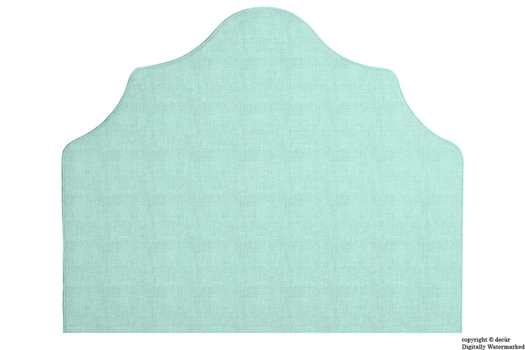 Elizabeth Wall Mounted Tall Headboard - Sky Duck Egg Blue