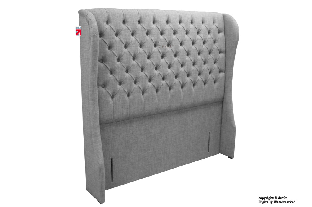Chelsea Wing Headboard - Grey