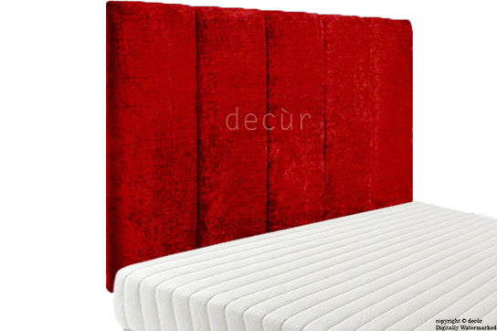 Abi High Headboard - Red