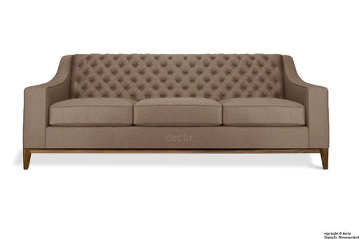 The Fifty Three Velvet Sofa - Mushroom