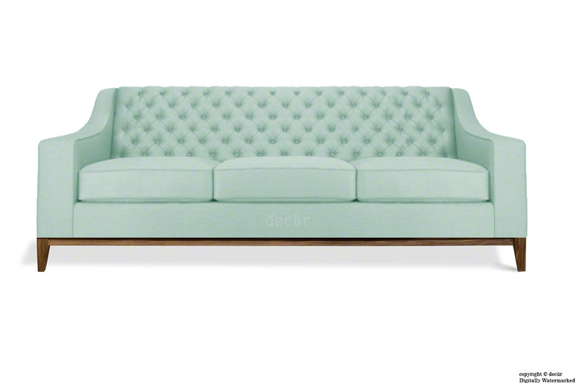 The Fifty Three Velvet Sofa - Seaspray