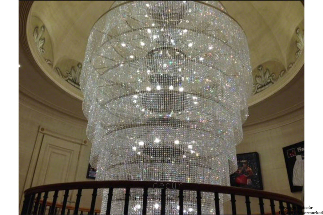 Harrods Chandelier - For A Grand Staircase, Foyer, Landing, Lobby or Stairwell - 7 Meter