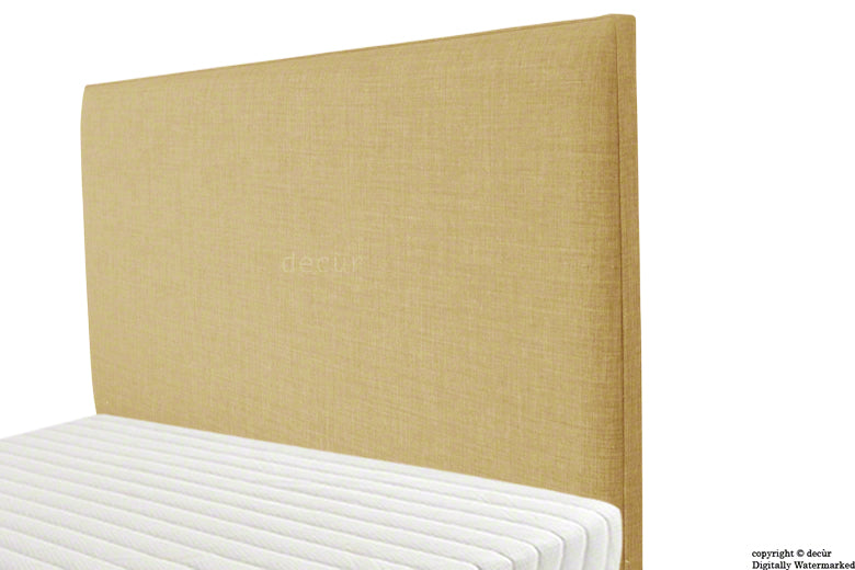 Faye Fabric Headboard - Honey