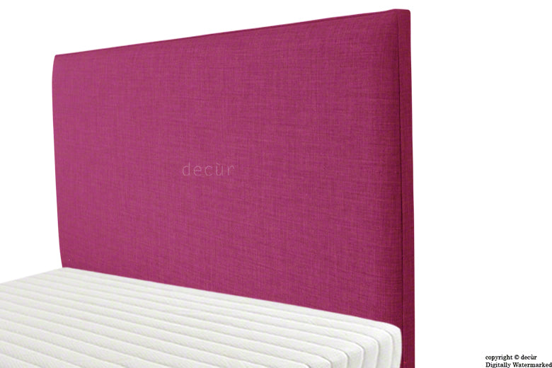 Faye Fabric Headboard - Fuchsia