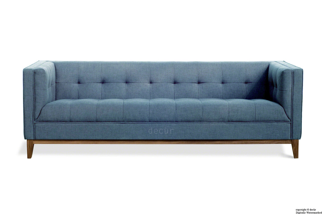 The Fifty Nine Linen Sofa - Denim Blue