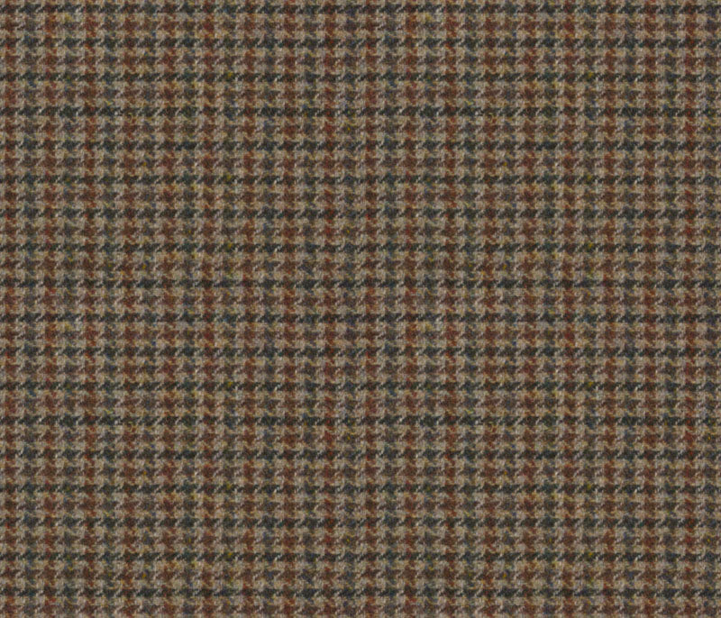 Malcolm Campbell Harris Tweed Wolf Tooth Fabric - Regal Estate London