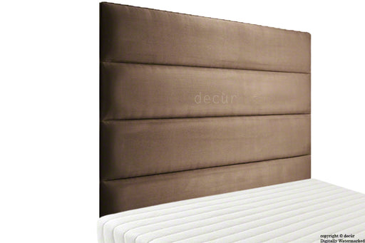 Boston Velvet Headboard - Mushroom