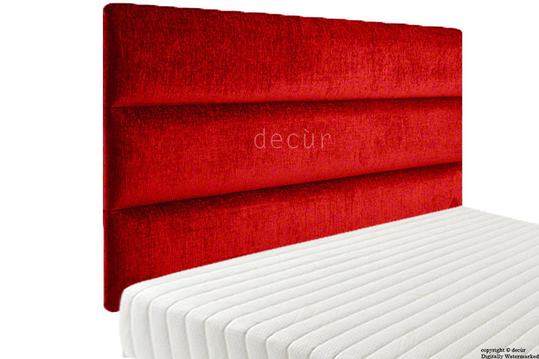 Amy High Headboard - Red
