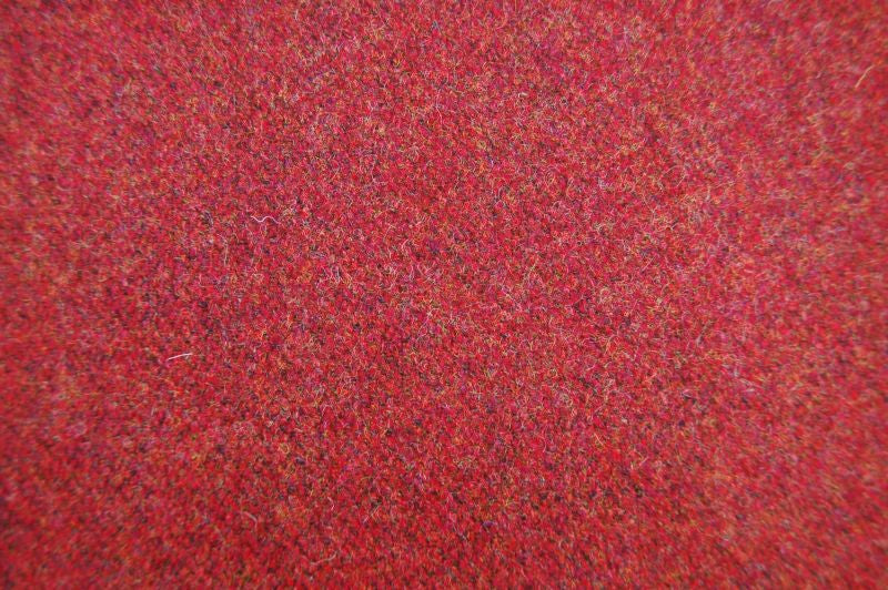 Elgar Wool Plain Tweed - Burnt Umber