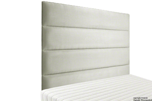 Boston Velvet Headboard - Cream