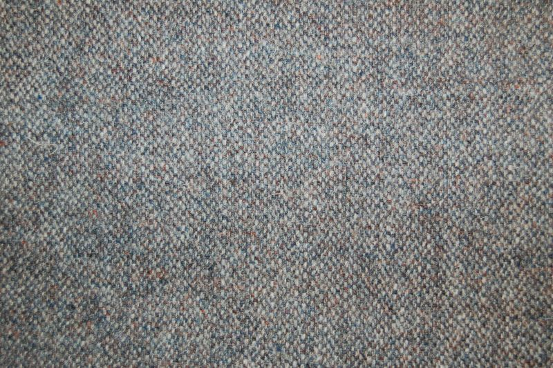 Harris Tweed Hebrides Plain Fabric - Callanish Grey