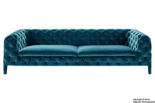 Rochester Chesterfield Velvet Sofa - Peacock
