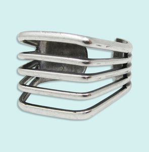 Silver Line Ring