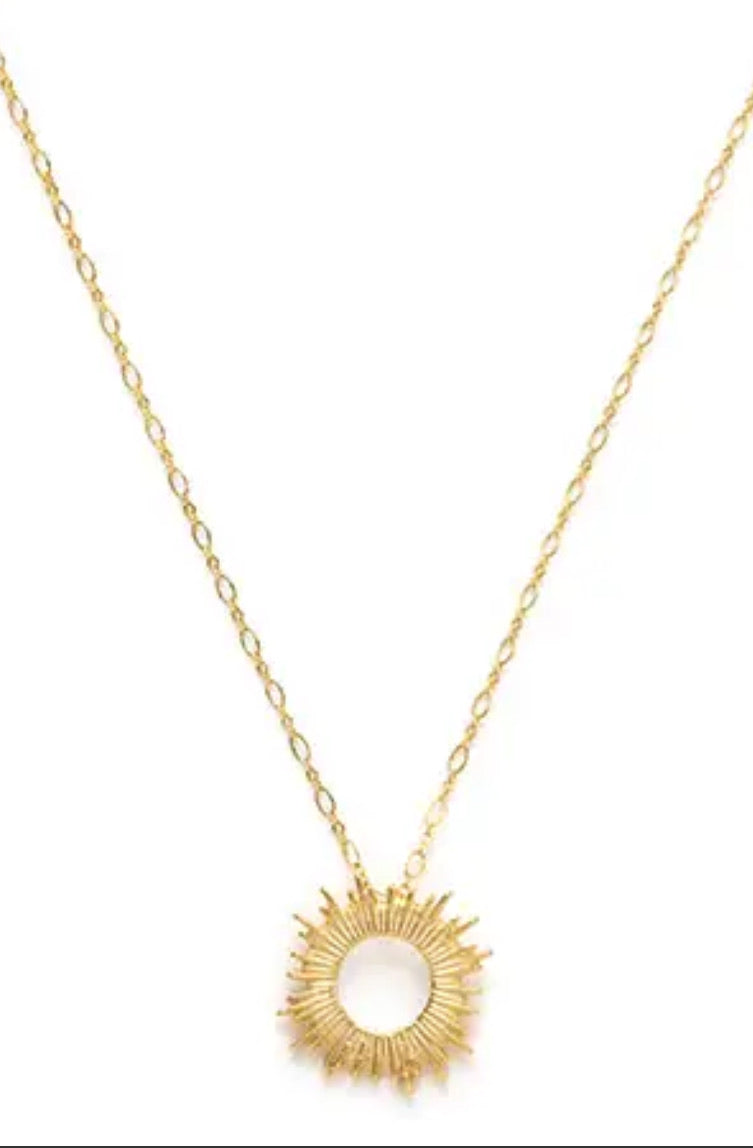 | Sunburst Necklace