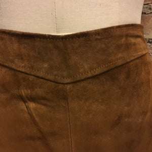Banana republic suede skirt