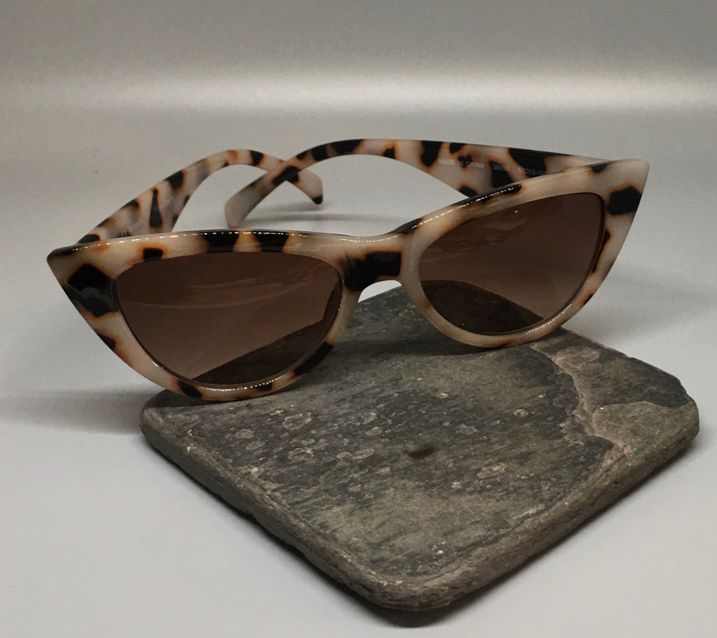 Cat eye leopard print Sunglasses