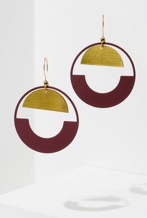 BALTIC HOOP EARRINGS