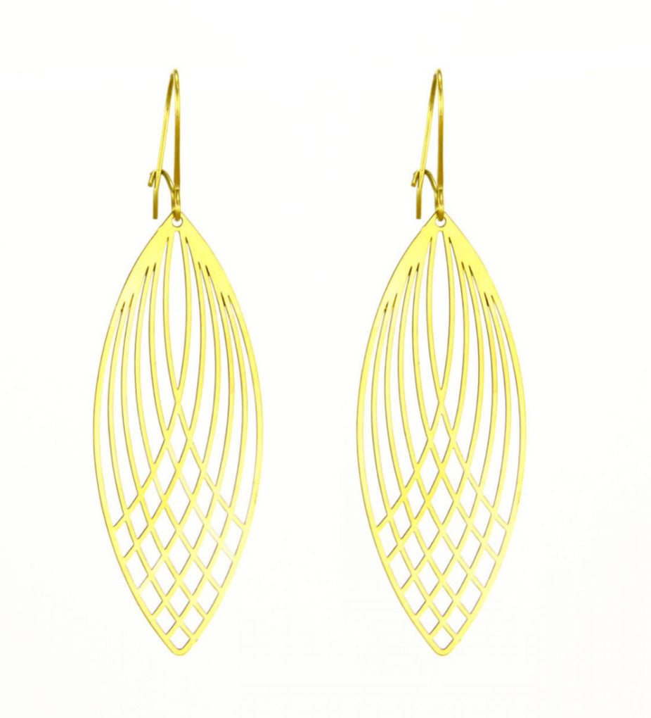 Deco Marquise Earrings