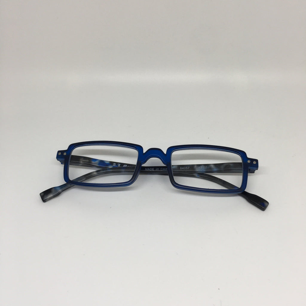 Rectangle reading glasses