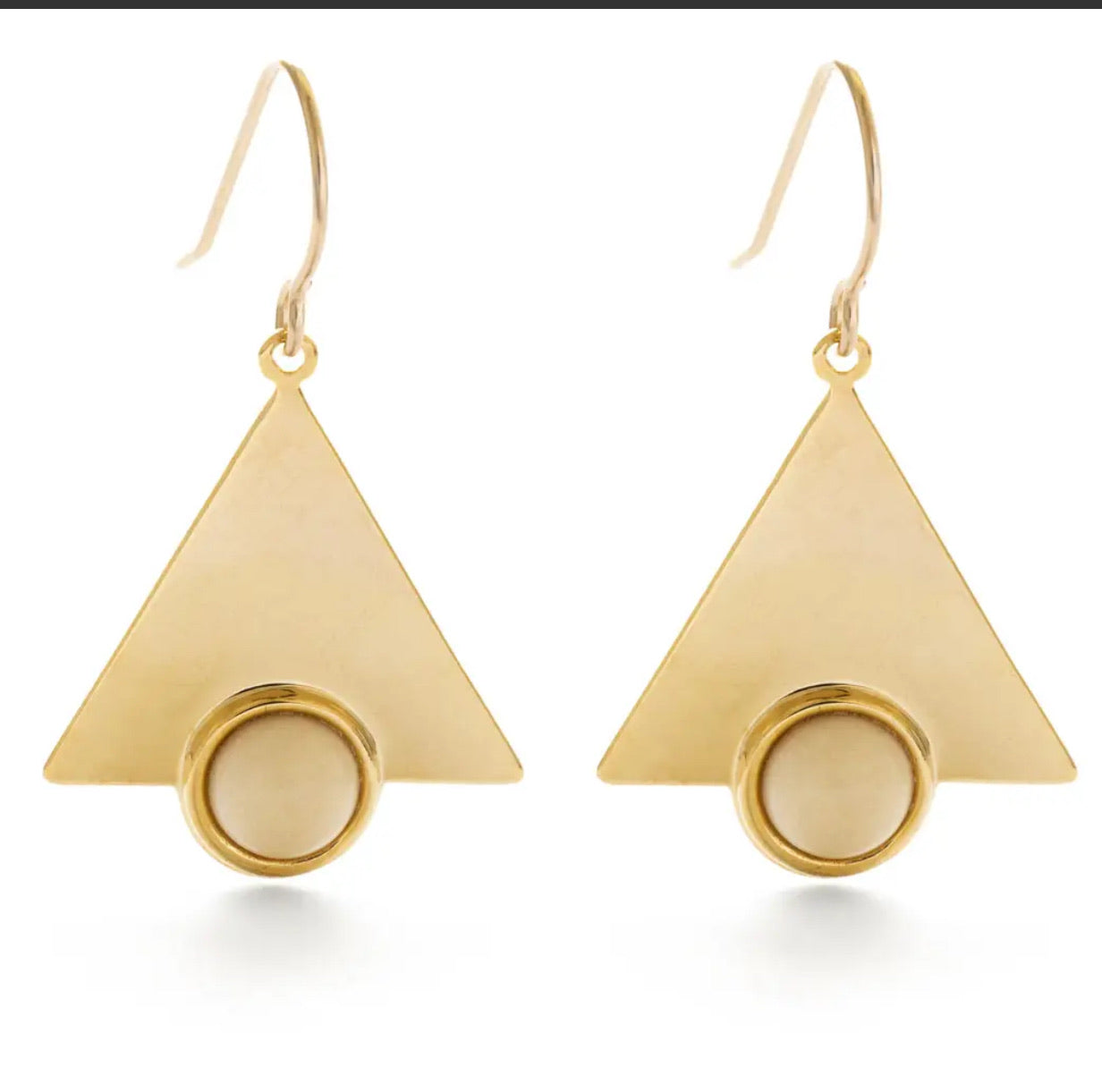 Mystic Triangle Earrings