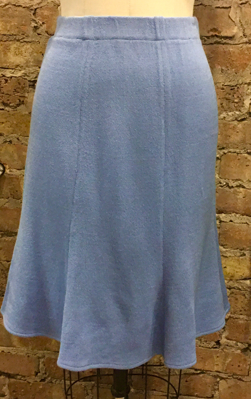 Vintage St John by Marie Gray Light Blue Skirt