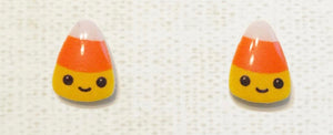 KAWAII CANDY CORN EARRINGS