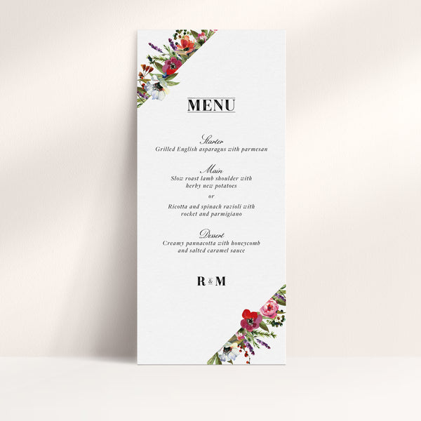Bloom Menu