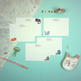 Cat Attack!! Notecards